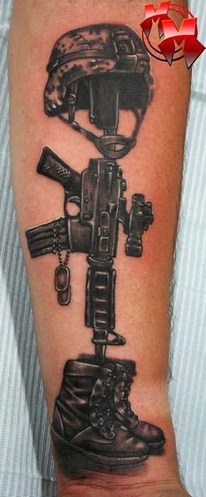 Brothers Forever Memorial Army Tattoo Design Of 2 2019 Tattoos Ideas