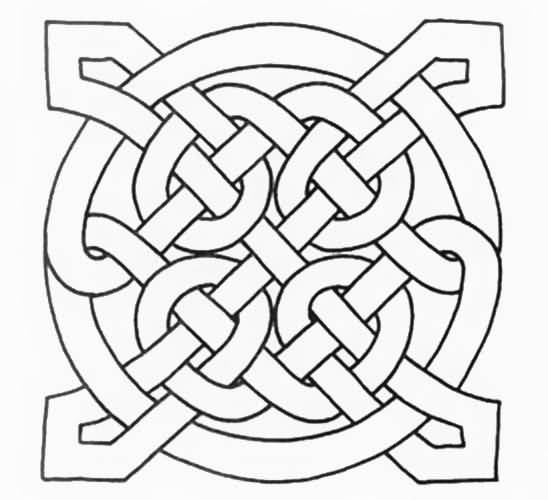 Simple Celtic Knot Amazing Endless Knot Tattoo of 7 - 2019 Tattoos Ideas