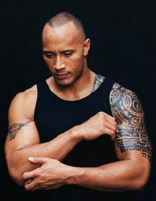 dwayne johnson shoulder tattoo. By Tattoo Guy | Published September 25,