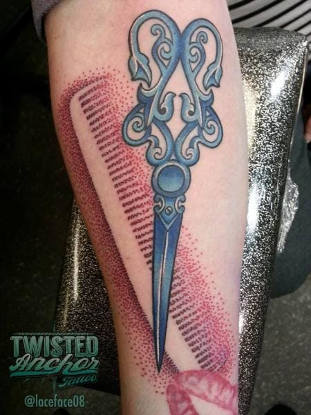 15 Clean Cut Tattoos For Any Barber Enthusiast Tattoodo