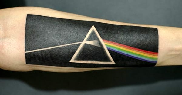 25 Pink Floyd Tattoos That Got Us Seeing The Dark Side Of