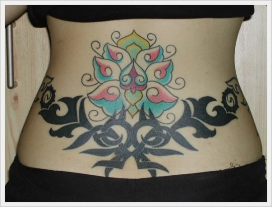 lower back tattoos for girls (8)