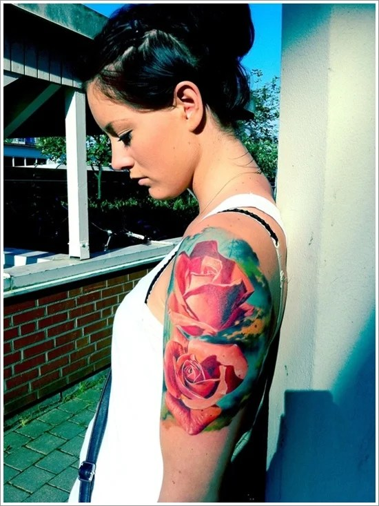 rose tattoo designs (2)