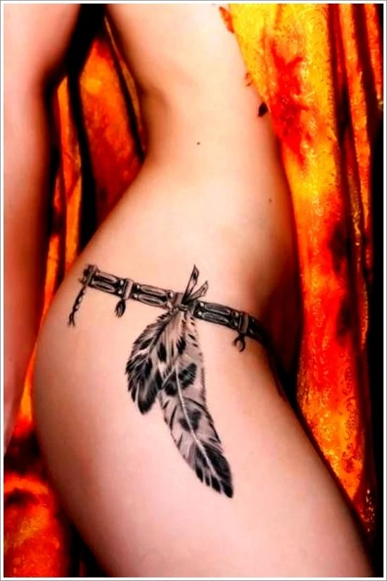 Feather Tattoo Designs (20)