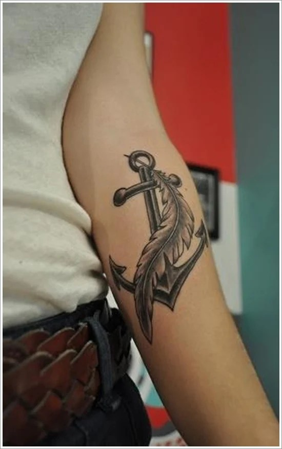Feather Tattoo Designs (25)