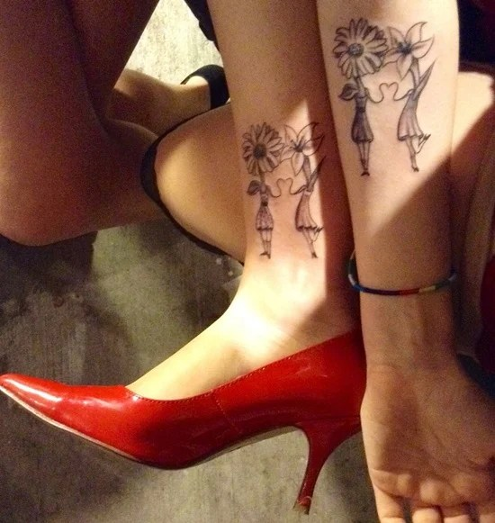 daisy tattoo (28)