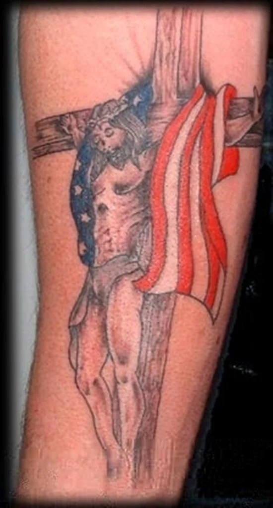 american flag tattoo (10)