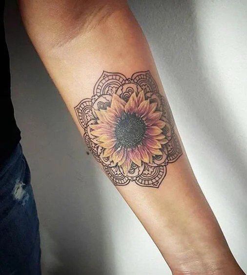 sunflower-tattoos-11