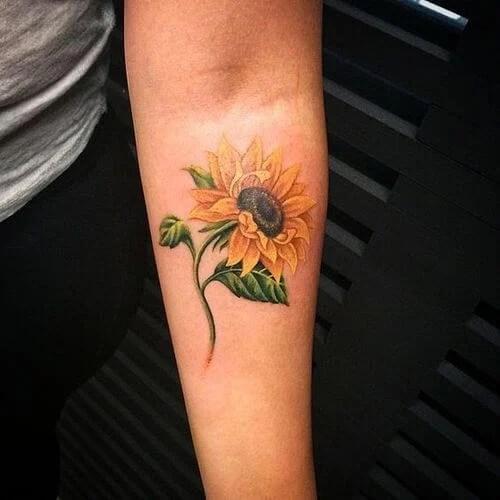 sunflower-tattoos-16