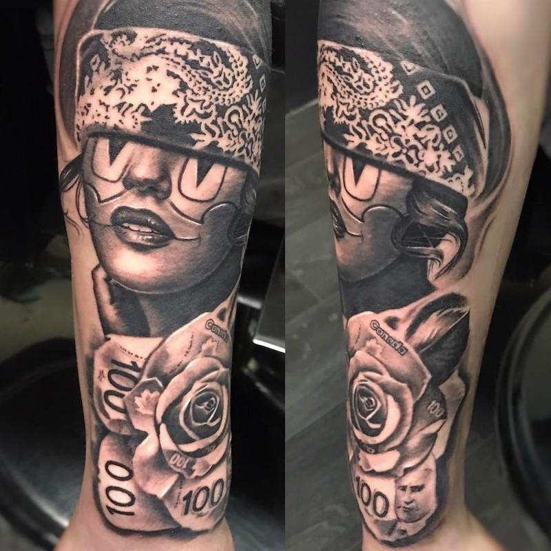 Hands Tattoo Gang Praying