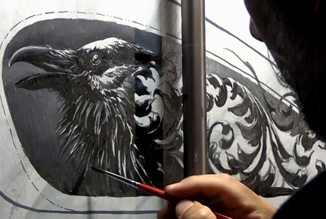 Carlos Torres Indian Painting
