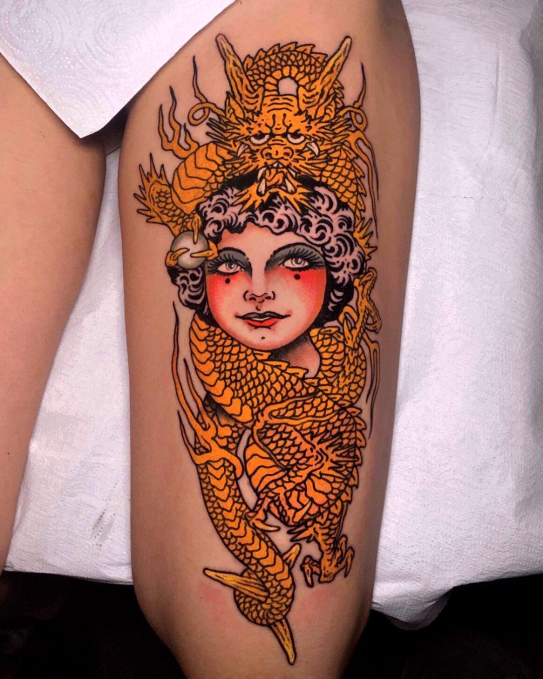 Tattoo by Pablo Lillo, @pablolillotattoo