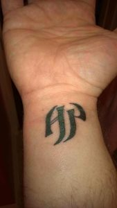40 Letter P Tattoo Designs Ideas And Templates Tattoo Me Now