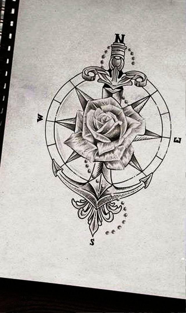 TattooMix Dövmecim çapa anchor dövmeleri (10)