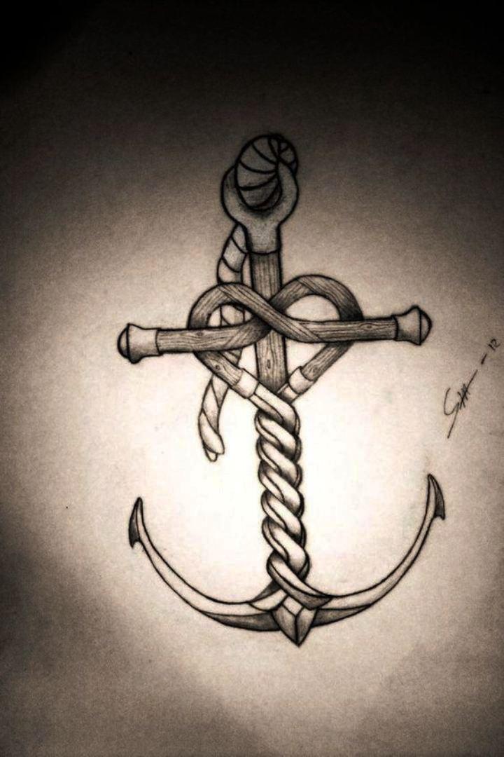 TattooMix Dövmecim çapa anchor dövmeleri (13)