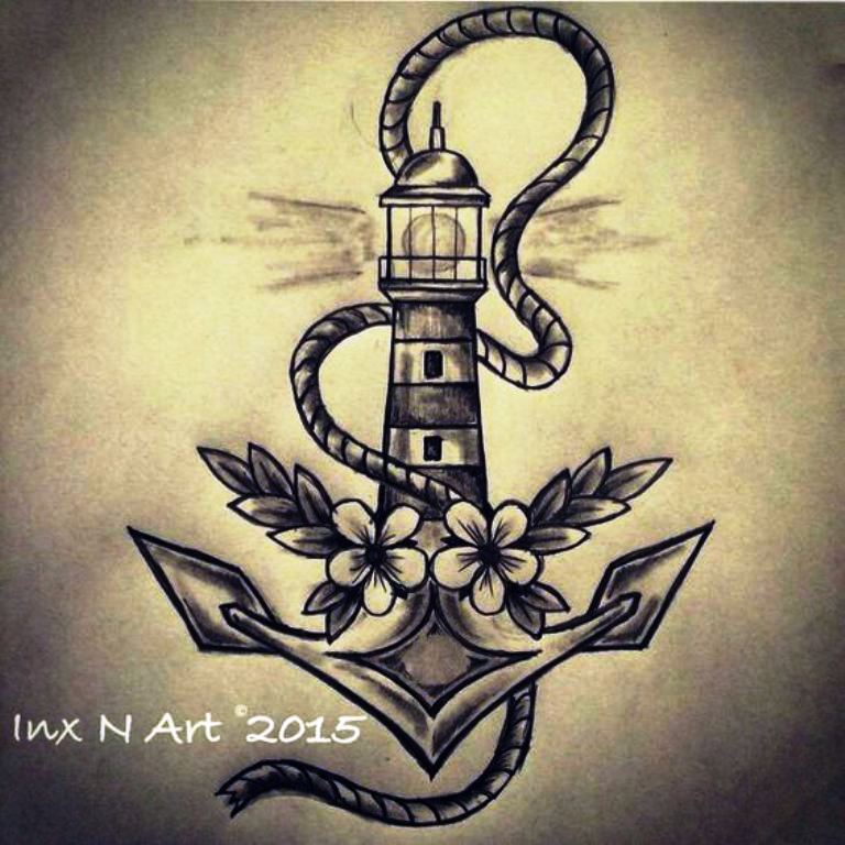 TattooMix Dövmecim çapa anchor dövmeleri (6)