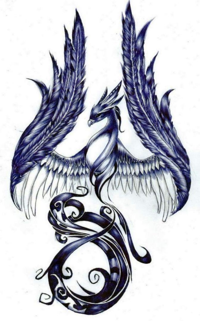 TattooMix Dövmecim anka phoneix dövmeleri (1)