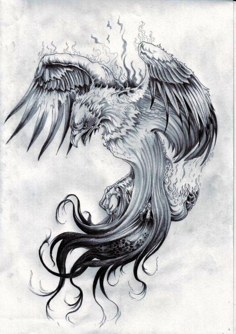TattooMix Dövmecim anka phoneix dövmeleri (11)