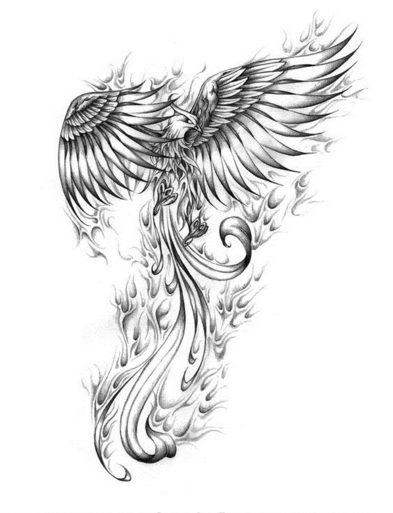 TattooMix Dövmecim anka phoneix dövmeleri (6)