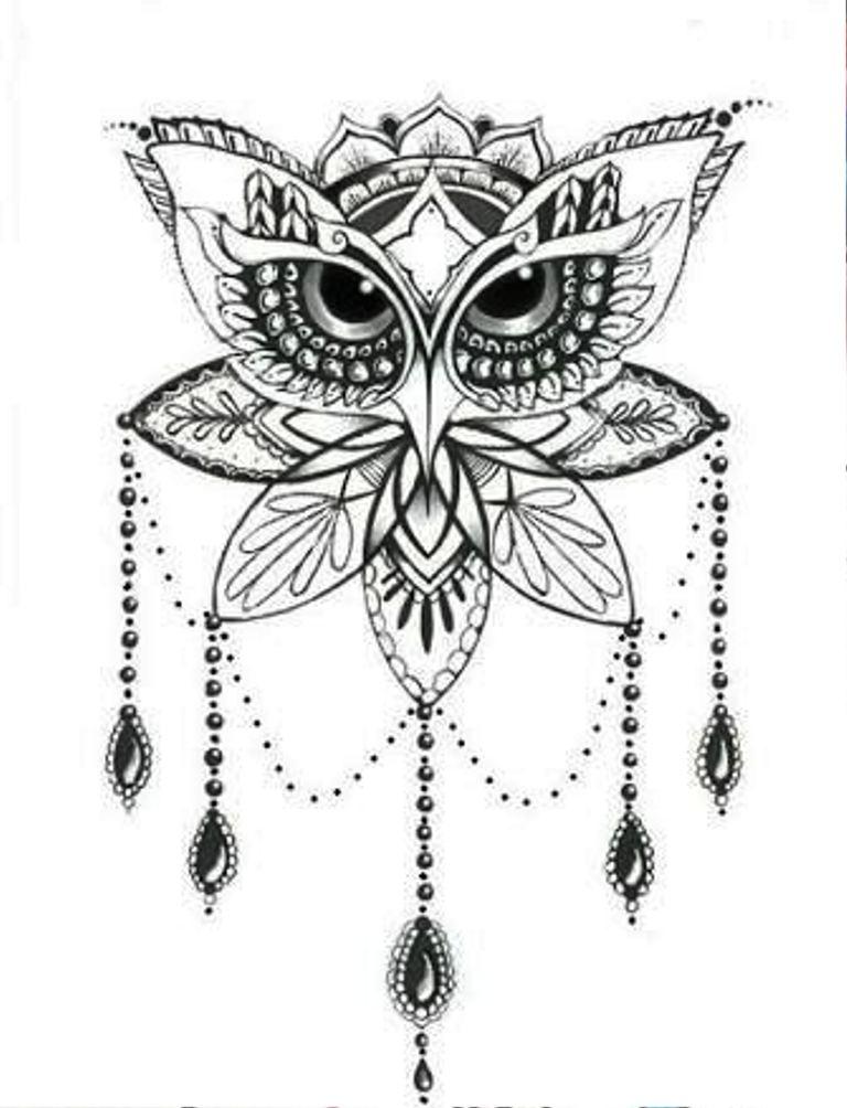 TattooMix Dövmecim baykuş owl dövmeleri (13)