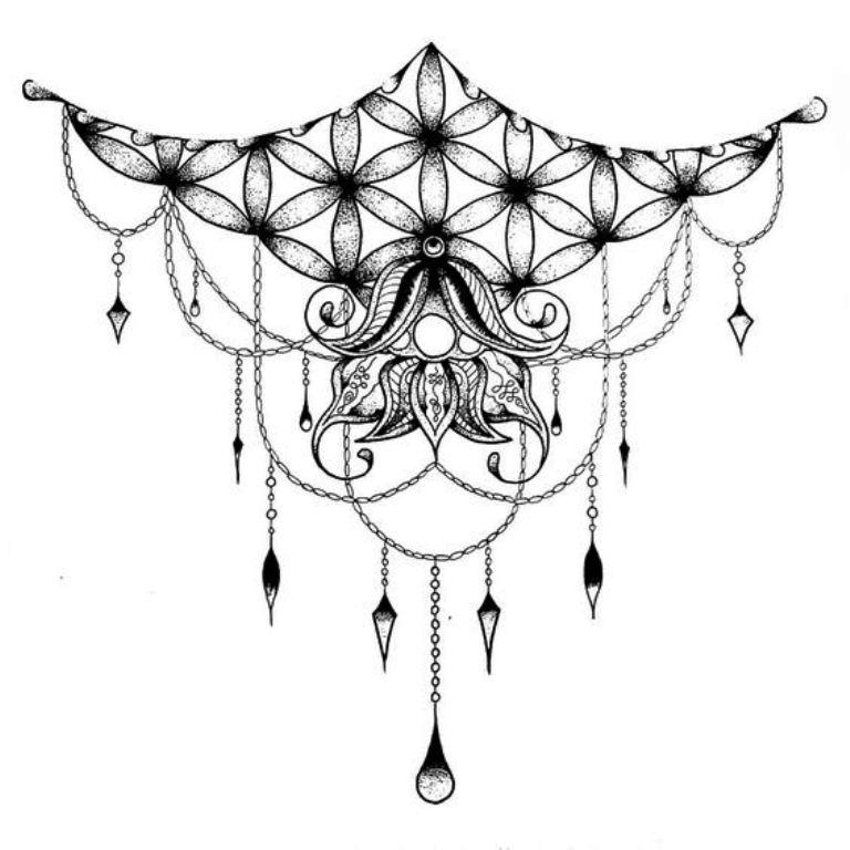 TattooMix Dövmecim göğüs dövmeleri (4)