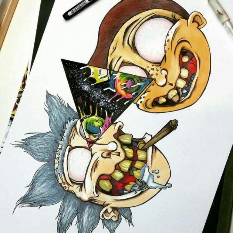 TattooMix Dövmecim gezegen uzay dövmeleri (11)