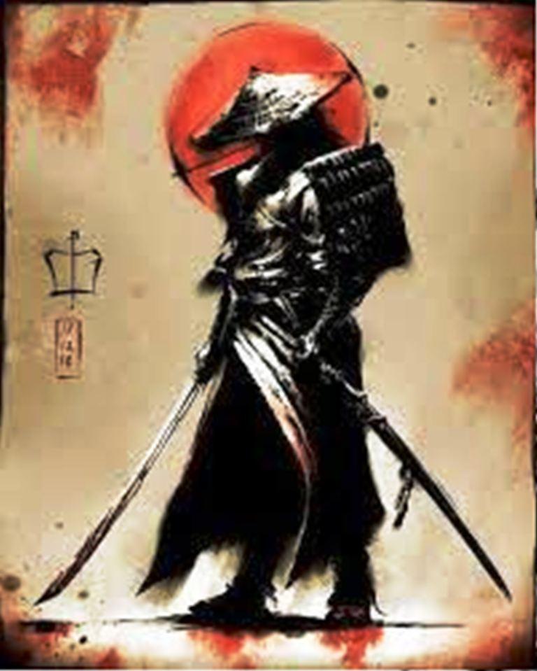 TattooMix Dövmecim samurai geyşa dövmeleri (13)