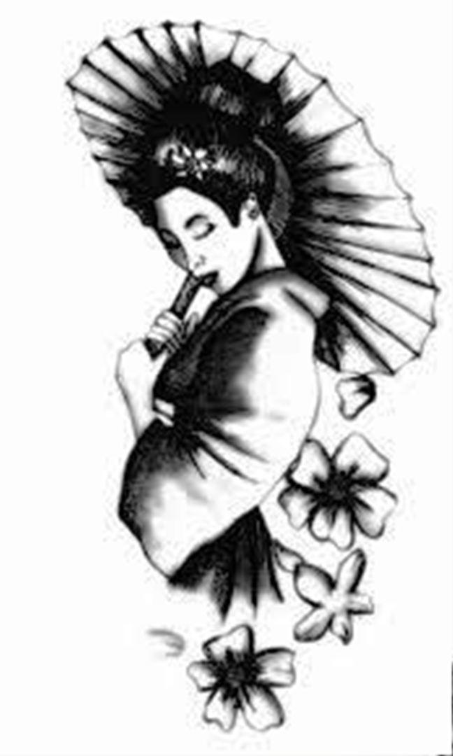 TattooMix Dövmecim samurai geyşa dövmeleri (2)