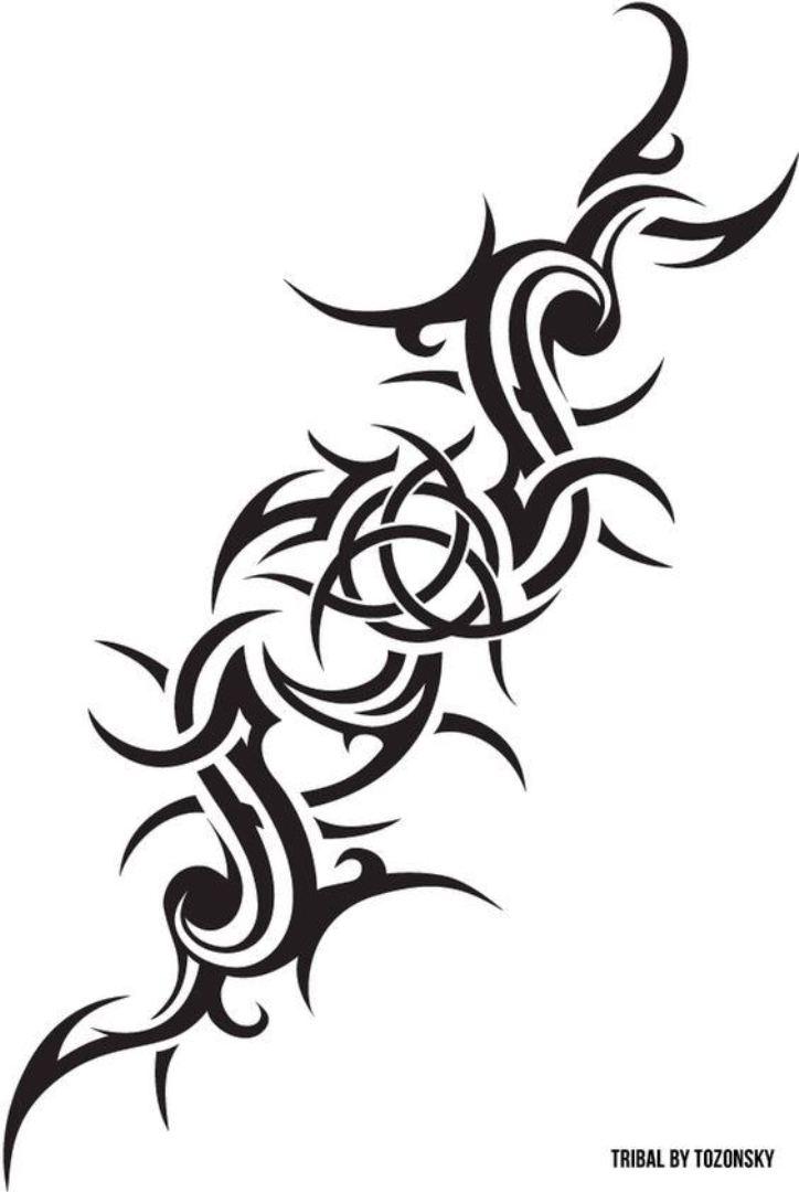 TattooMix Dövmecim tribal dövmeler (1)