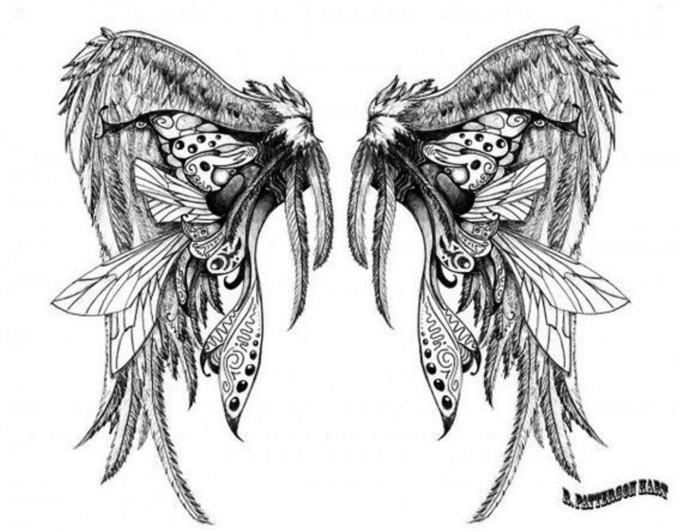 TattooMix Dövmecimkanat dövmeleri (3)