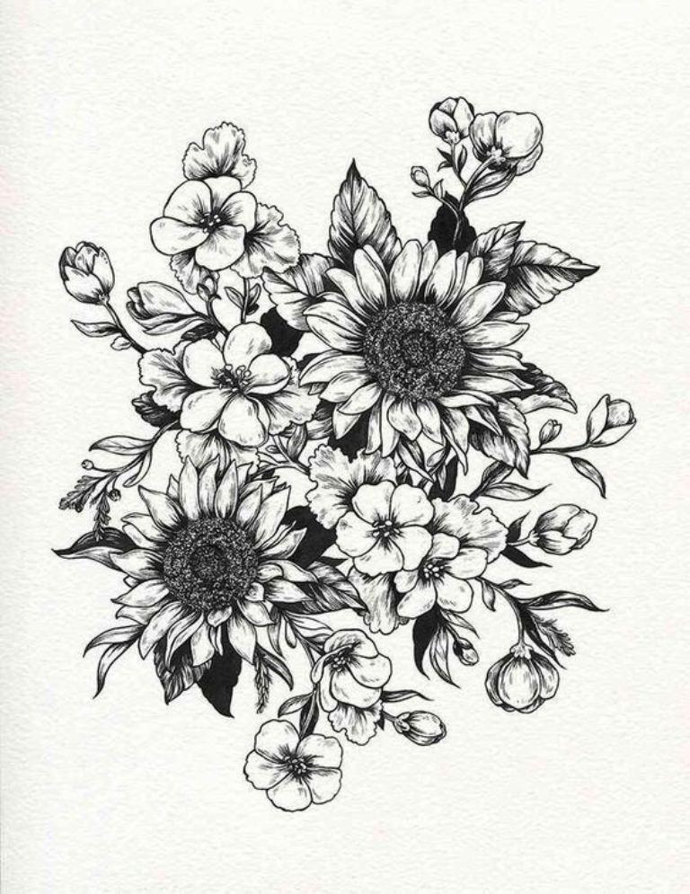 tattoo mix dövmecim çiçek dövmeleri (14)