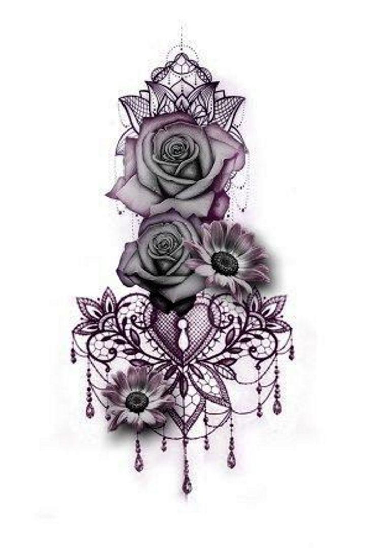 tattoo mix dövmecim çiçek dövmeleri (8)
