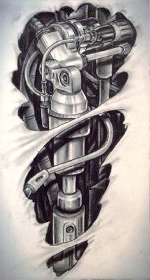 tattoo mix dövmecim biomekanik dövmeler (3)
