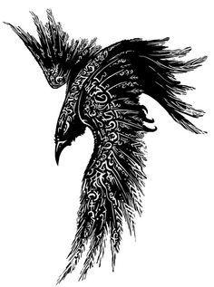 tattoo mix dövmecim karga dövmeleri (1)