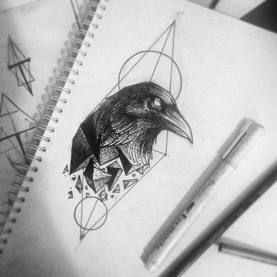 tattoo mix dövmecim karga dövmeleri (13)