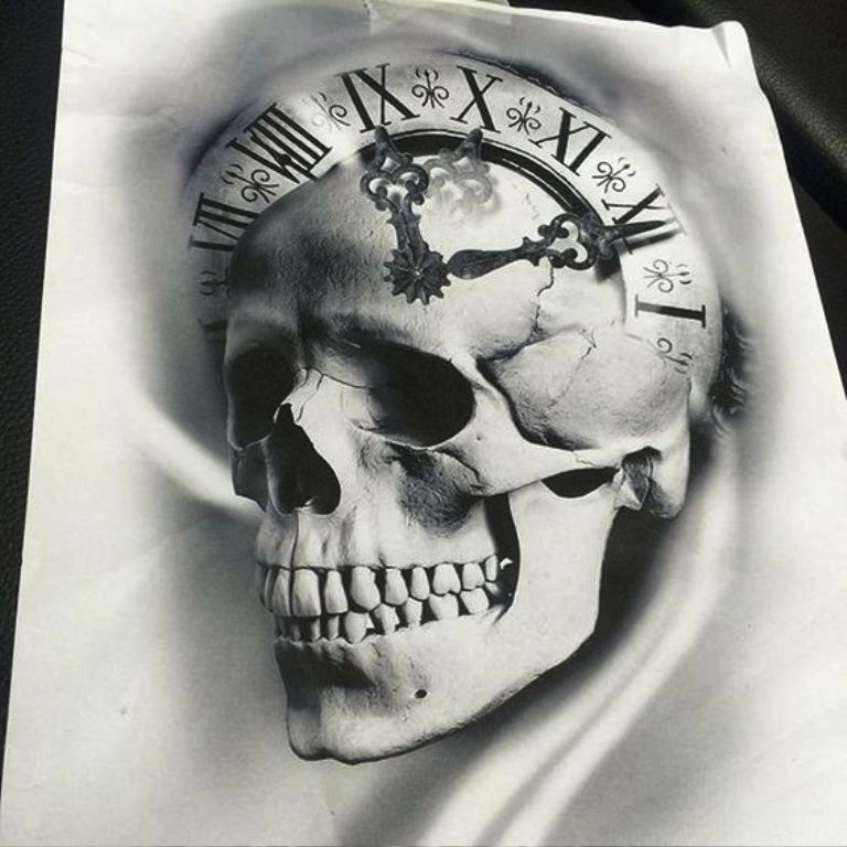 tattoo mix dövmecim kurukafa skull dövmeleri (18)