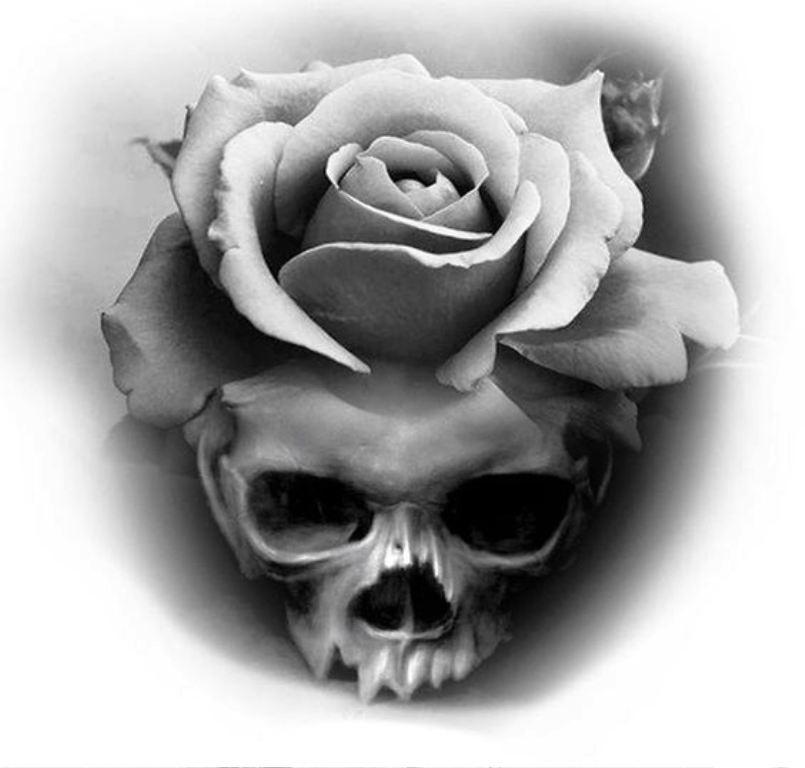 tattoo mix dövmecim kurukafa skull dövmeleri (5)