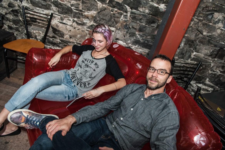 Fondateurs de la revue Tattoo Québec, Maëlla Lepage et Yannick Lepage