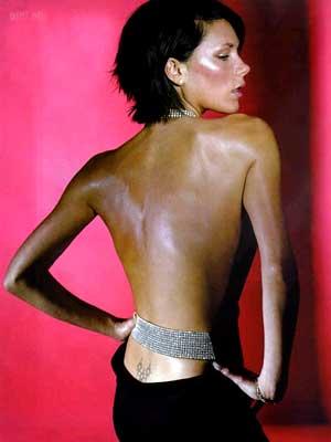 Resultado de imagen para tattoo stars victoria beckham