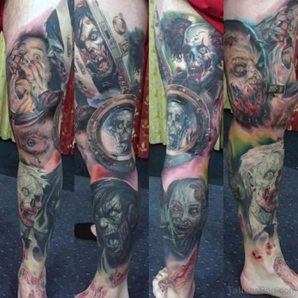 Tattoos Mermaid Black White And Portrait