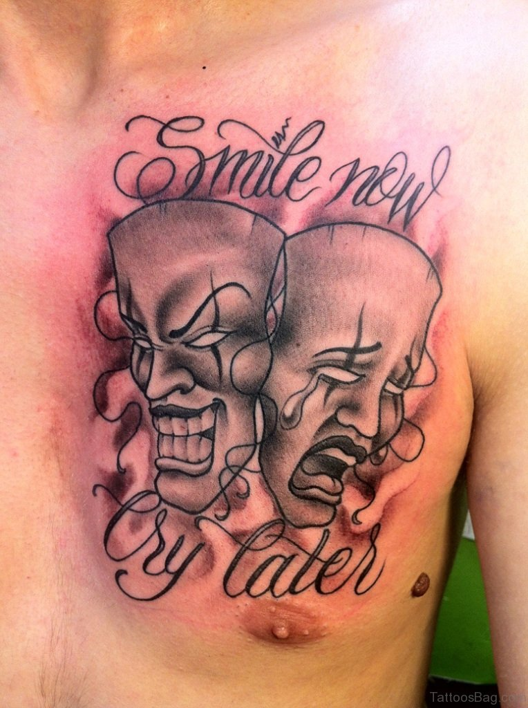 Laugh Now Cry Later Mask