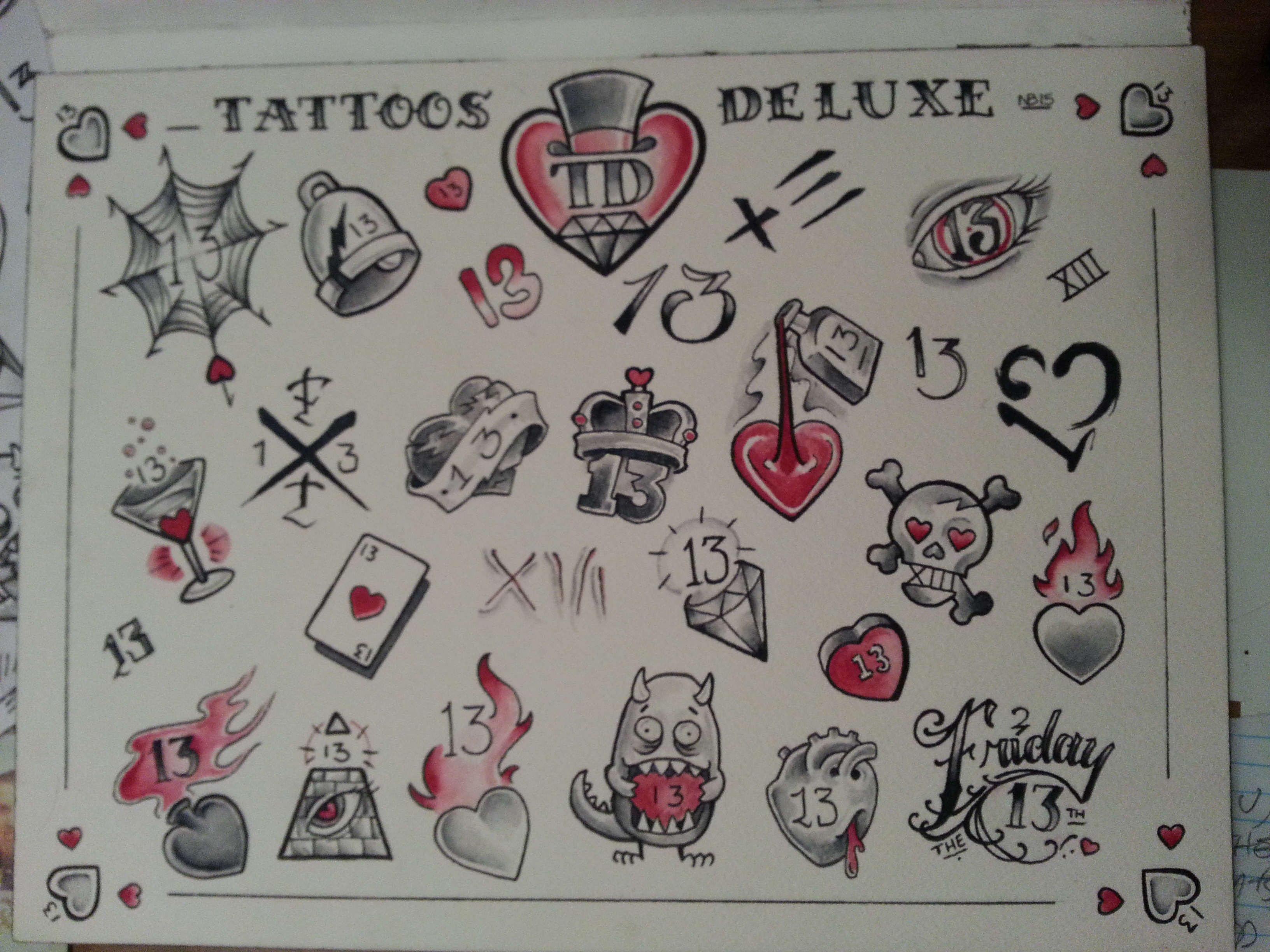 February 2015 Greg James Tattoos Deluxe