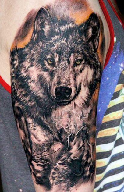 Best Wolf Tattoos Designs 15