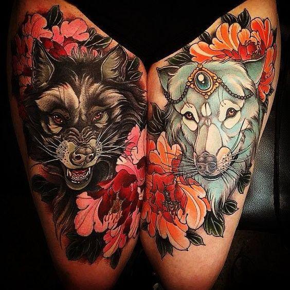 Best Wolf Tattoos Designs 10