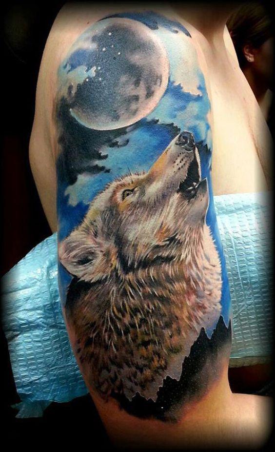Best Wolf Tattoos Designs 23