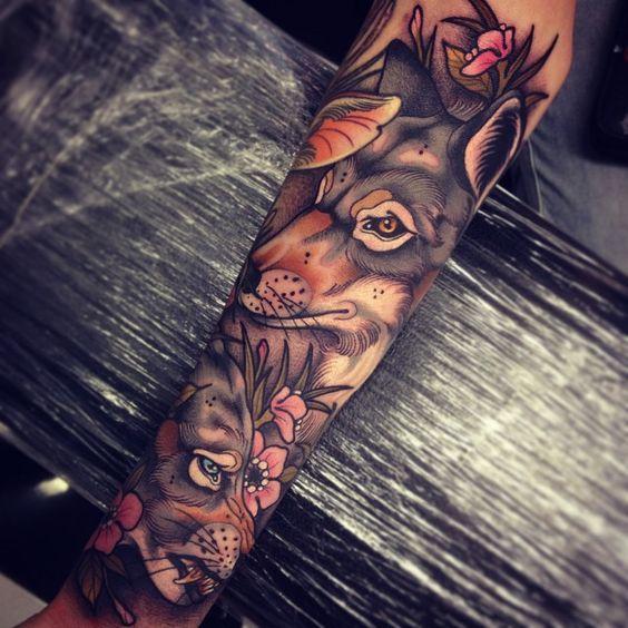 Best Wolf Tattoos Designs 20