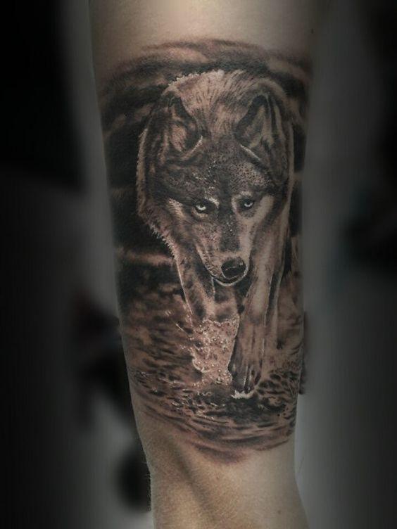 Best Wolf Tattoos Designs 38