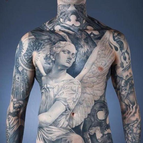 Remarkable Angel Tattoos (1)