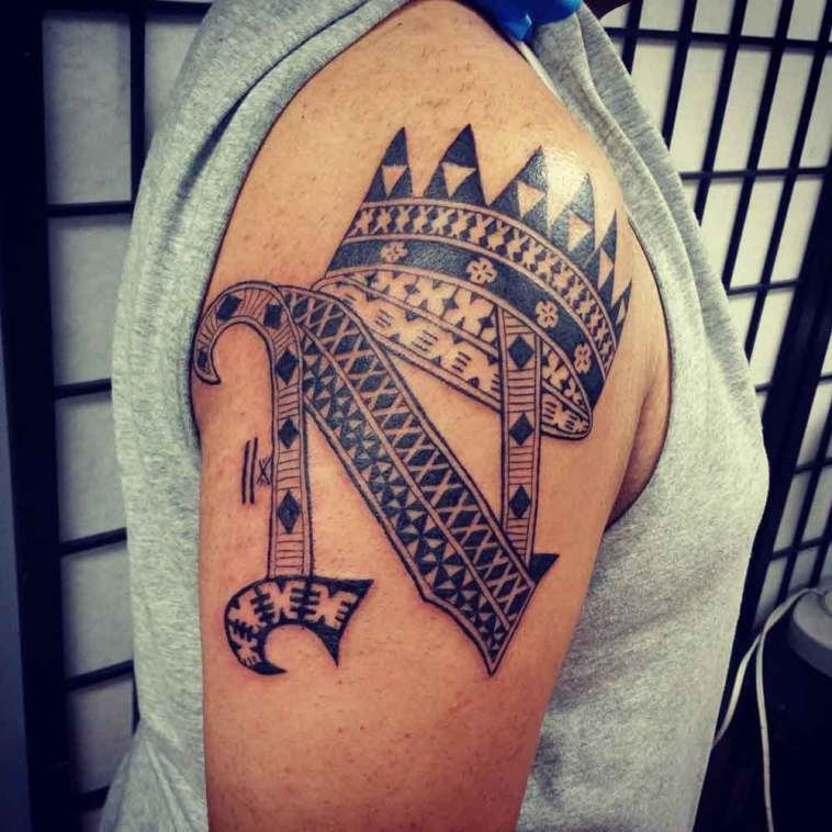 40 Letter N Tattoo Designs, Ideas and Templates