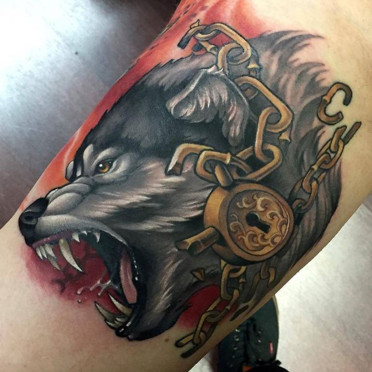 Ultimate Fenrir Tattoo Collection – 30 Fenrir Tattoo Designs, Ideas and Meanings